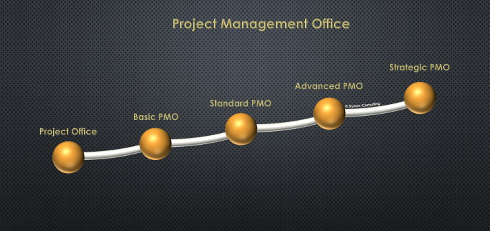 Stufen eines Project Management Office